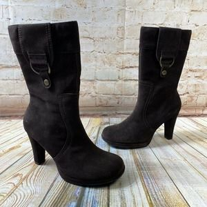 NEW Skechers Somethin' Else Suede Calf Boots
